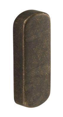 Eindkap 27x70mm oud brons