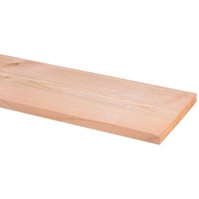 Douglas plank ruw 2,2 x 19 x 300 cm
