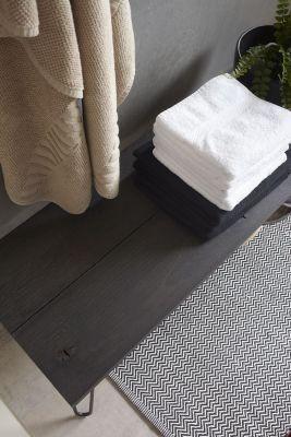 Eiken plank Dark Grey