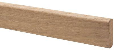 Eiken trapleuning rechthoekig 270 cm