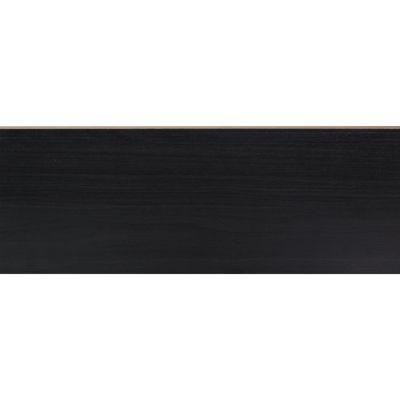 Stootbord zwart eiken 130 x 20 cm (3 stuks)