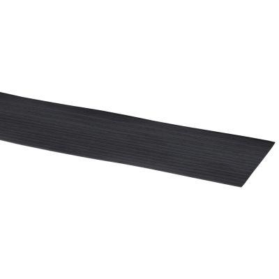 Kantband zwart eiken 40 x 6 cm