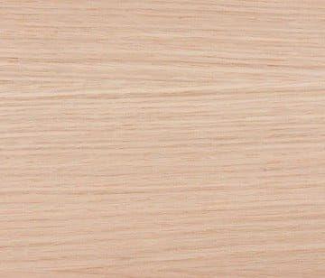 Stootborden eiken/wit 130 x 20 cm