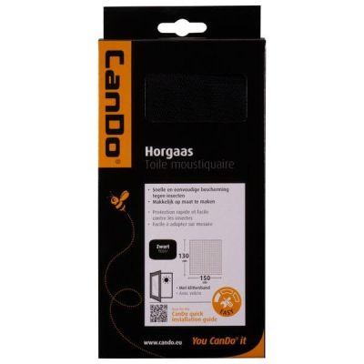 Horgaas klittenband Basic Zwart
